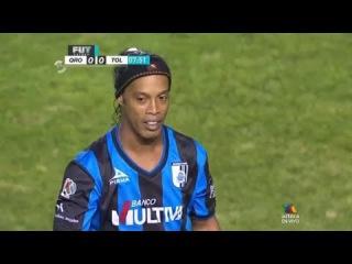 Ronaldinho vs Toluca • HD 720p (26-09-2014) - Queretaro vs Toluca 1-1 HD