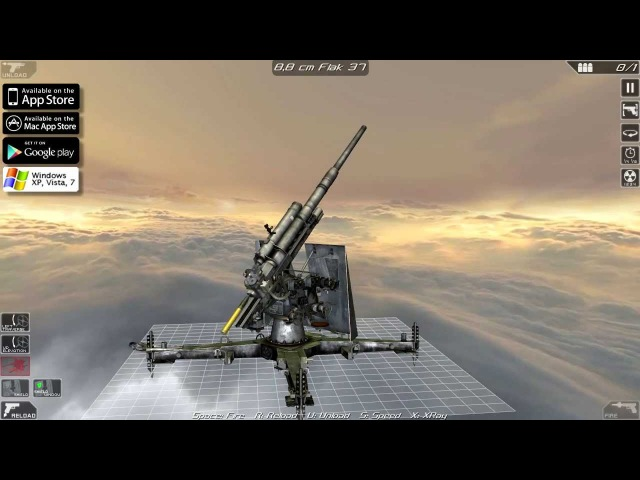 8,8 cm FLAK 37 (disassembly and operation)