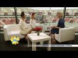 [Violetta Live] Entrevista a Tini Stoessel y Mercedes Lambre para