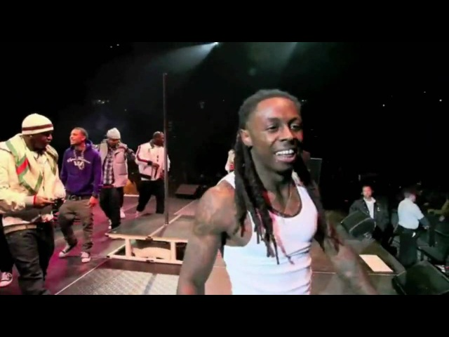 Lil Wayne Young Money - Bedrock (Live, 2010)