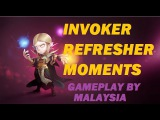 Invoker Refresher moments