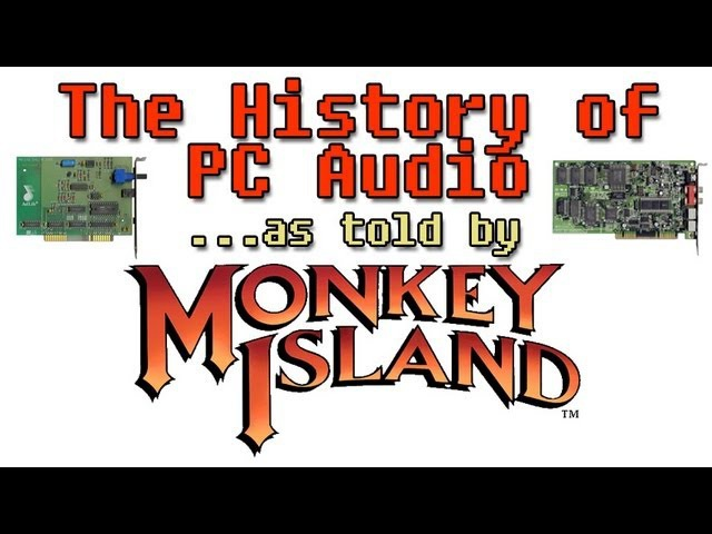 LGR - Evolution of PC Audio - As Told by Secret of Monkey Island