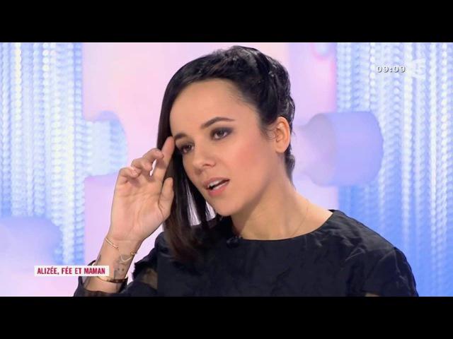 Alizee Fée et maman L'invitée du jour Les Maternelles 06 04 2015