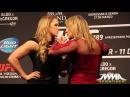 UFC 190: Ronda Rousey vs. Bethe Correia Staredown
