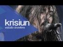 Hatred inherit - Krisiun no Estúdio Showlivre 2013