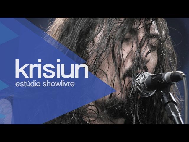 Hatred inherit Krisiun no Estúdio Showlivre 2013