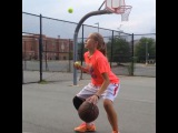 Shout out to 7th grader @girl_got_handles for showing us how she gets ready to Ball Up