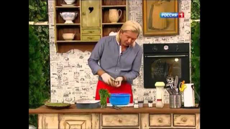 Курица, запеченная в кефире и чесноке Александр Селезнев