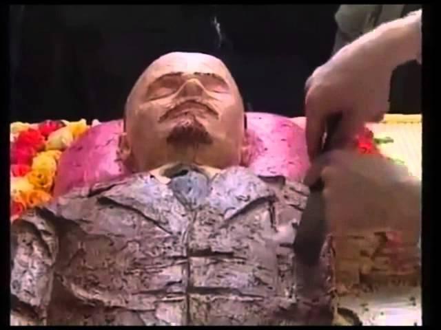 Ленин торт. Ленина съели