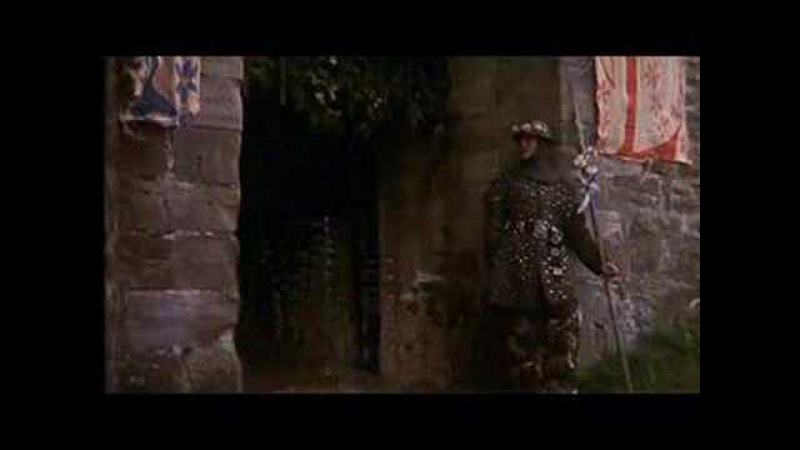 Sir Lancelot attacks castle Python