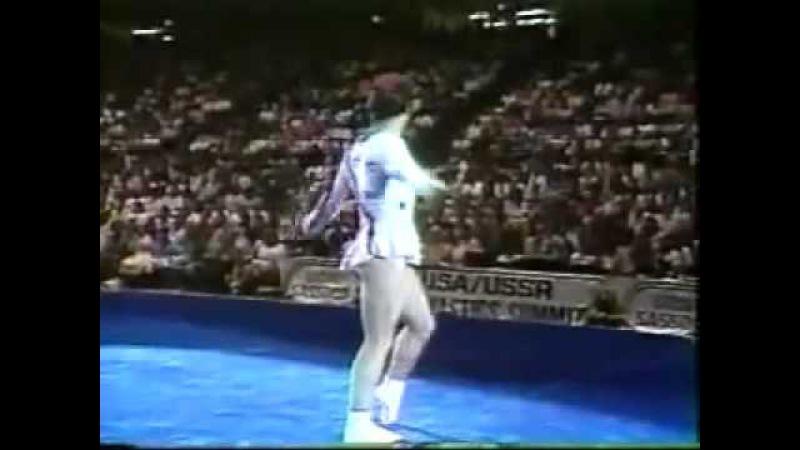 1988 Пол Хант - гимнаст- клоун. Удивительное зрелище!