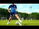 Академия футбола. Урок № 7. Финт «Ножницы»