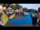 флешмоб 14 10 2015 Кам'янчани за Мир Частина 2