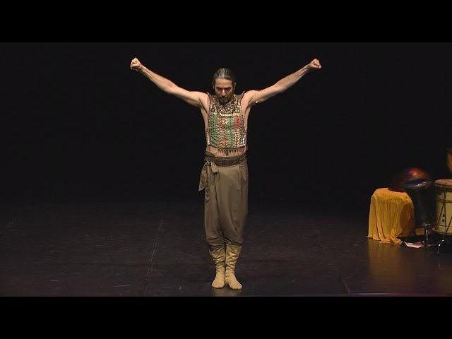 با شاهرخ مشکین قلم، رقصنده ایرانی در لیون ف