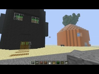 Обзор карты Bikini Bottom (Спанч Боб / Sponge Bob) в Minecraft!!!