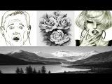 РИСОВАНИЕ карандашом  ОРИГИНАЛЬНЫЕ методы и приёмы рисования