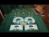 призы из акций 32 выпуск ( сок. фруктовый сад , бокалы, доски и тарелка )