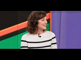 Marion Cotillard on The View - January 5, 2015