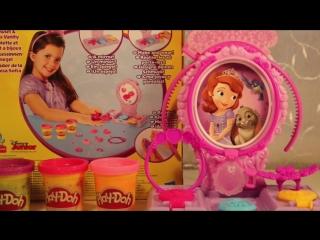 Набор Туалетныи столик принцессы Софии Sofia The First Play Doh Плеи До