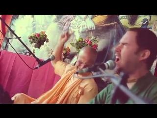 WAVES OF KIRTAN __ BB Govinda Swami [with Akincana Krishna, Ojasvi Saci Suta] - Vsf BALTIC 2015