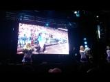Фан-зона СКА. SKA Sisters show