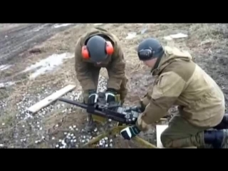 Стрельба из автоматического граномета АГС-30