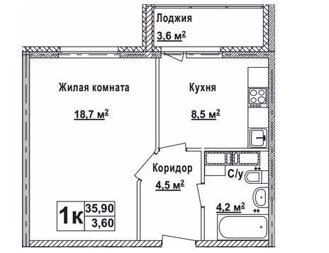 квартиры от застройщика калининградская обл