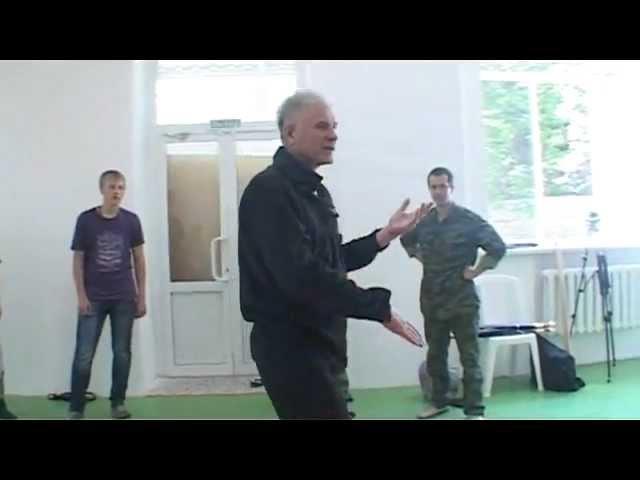 Презентация по Русскому рукопашному бою С. М. Полунина