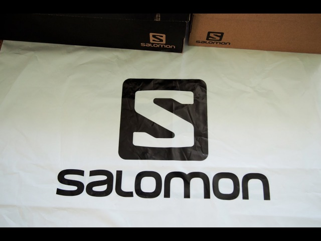 Как определить оригинальность обуви Salomon