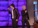 Josh Groban and Ellen Sing Total Eclipse of the Heart