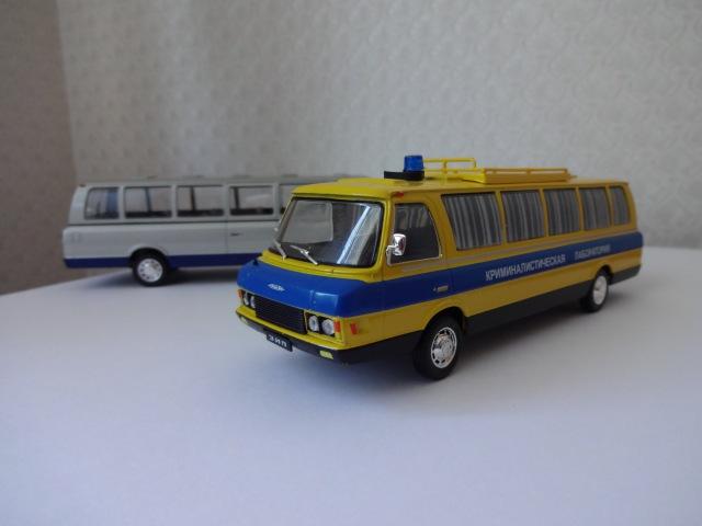 ЗиЛ-118КЛ криминалистическая лаборатория Автомобиль на службе №13 1/43 DeAgostini