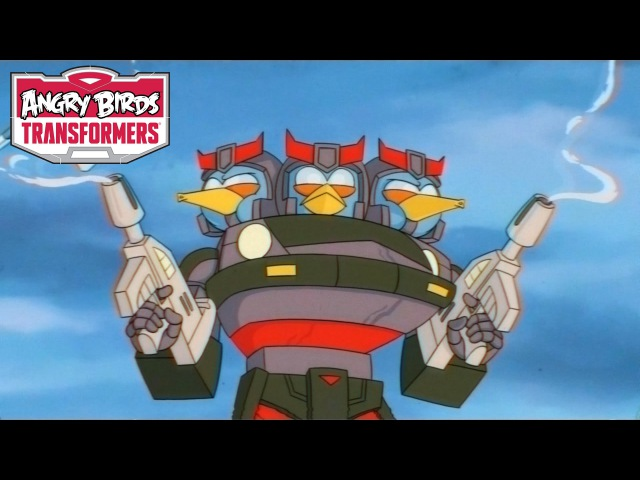 Angry Birds Transformers – Meet Bluestreak and Prowl!