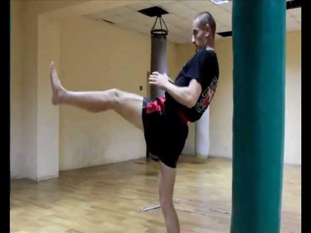 Техника ударов ногами в тайском боксе