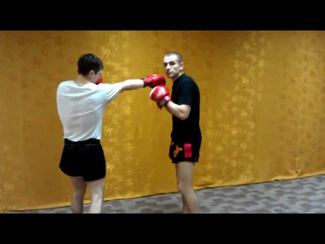 Тайский бокс - Нокаутирующая контратака руками