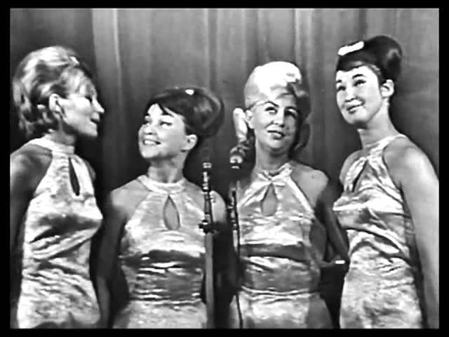 Квартет Советская песня - Девчонки танцуют на палубе.