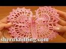 Crochet Large Butterfly Step-by-Step Tutorial 13 Free Crochet Butterfly Pattern
