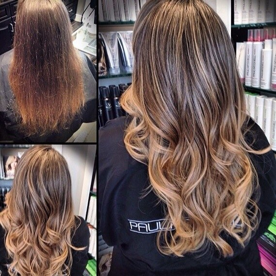 Brond ombre one hair bronz 2015