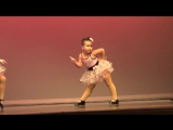Танец 6-летней американки взорвал Интернет - Johanna channeling Aretha Franklin!