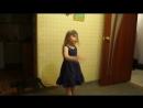Алена танцует под песню на гитаре Shape of my heart