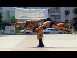 Спортивные девушки танцуют. По больше бы таких девушек