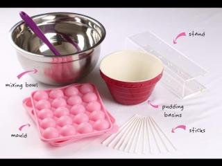 Как приготовить кейк-попсы с формой от Magic Muffin