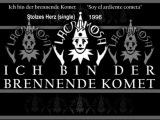 Lacrimosa - Ich bin der Brennende Komet (Letras Alem