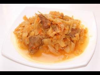 Тушеная капуста с мясом в мультиварке редмонд рецепт с пошагово в