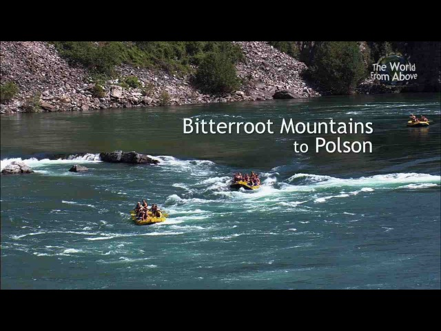 Montana from Above - Our Best 5 Amazing Locations from Bitterroot Mountains to Polson (HD)