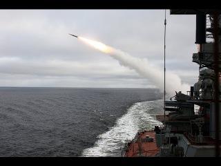 Стрельбы ТАРКР «Петр Великий» в Баренцевом море