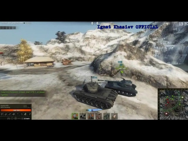 World of Tanks M26 Pershing CUBE • Defiler- I wanna see you cry, bitch,ohh•