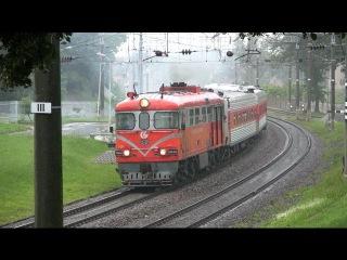 Тепловоз ТЭП60-0926 близ ст. Вильнюс / TEP60-0926 near Vilnius station