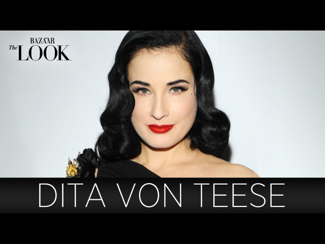 Dita Von Teese on DIY Beauty, Show Biz Timeless Fashion | Harper's Bazaar The Look S2.E11