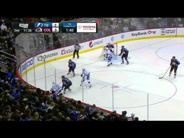 Tampa Bay Lightning vs. Colorado Avalanche 22.02.2015