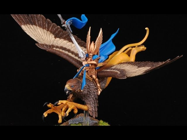 How to paint High Elf Lord on Griffon? Island Of Blood | Warhammer Fantasy Battle | Buypainted